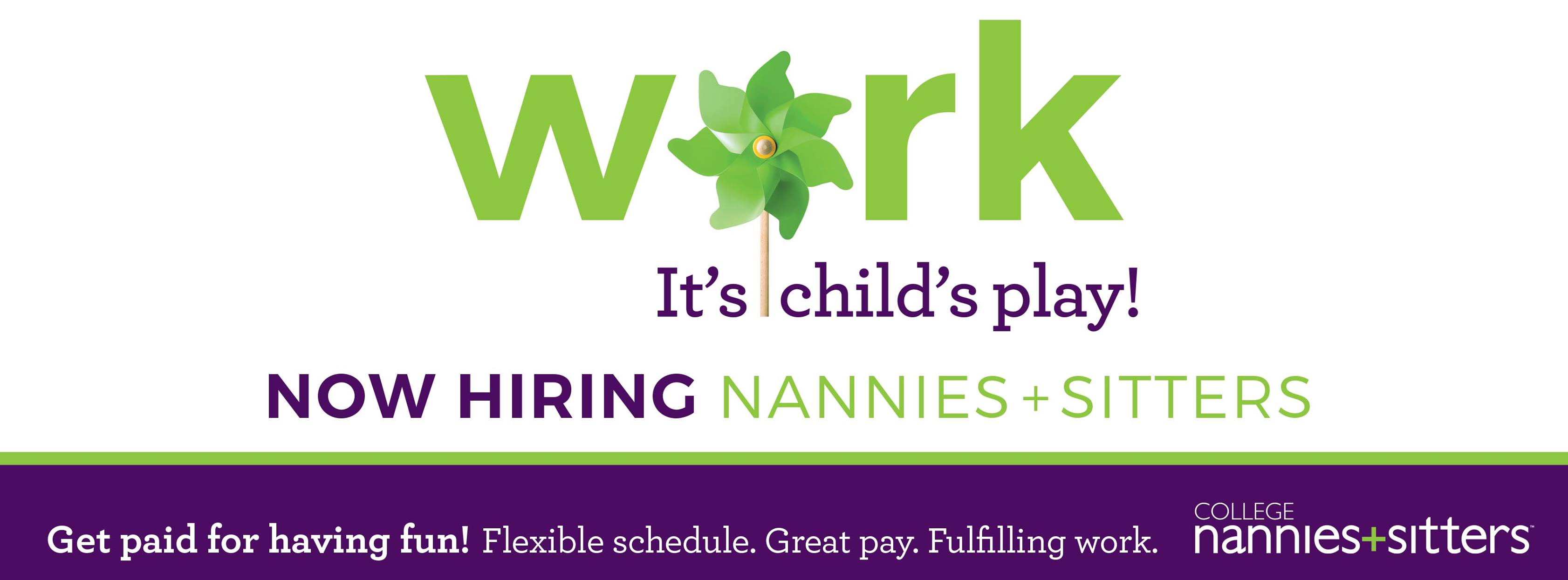 Sitter and Nanny Jobs TriCities TN Childcare Emplpyment
