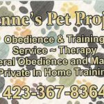 Dianne's Pet Projects Obedience and Training