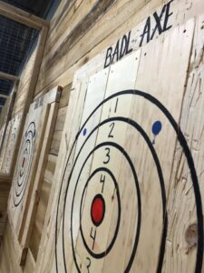 Badl Axe Throwing at Quantum Leap Johnson City TN